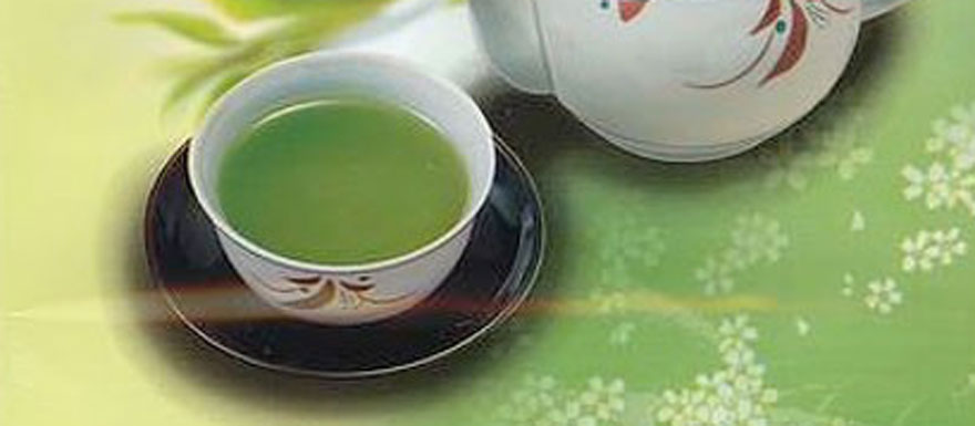 Grüner Tee aus Japan
