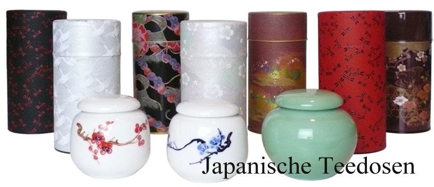 Japanische Teedosen