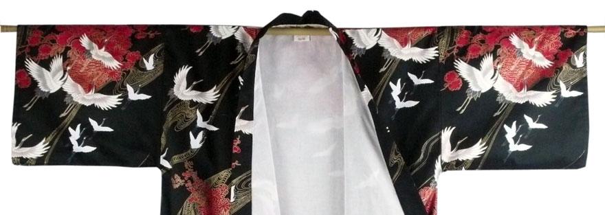 Kimono-mit-Innenfutter