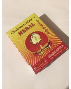 chinesische Spielkarten Mao Medaille