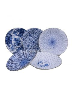5 Sushi-Teller Set Ai Egawari ø 22 cm