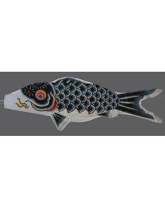 Koinobori schwarz 200 cm - Glückskarpfen