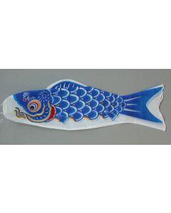 Koinobori blau 90 cm - Glückskarpfen