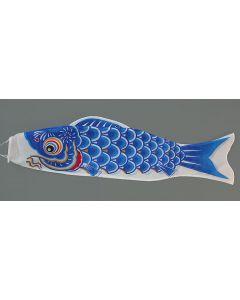 Koinobori blau 120 cm - Glückskarpfen