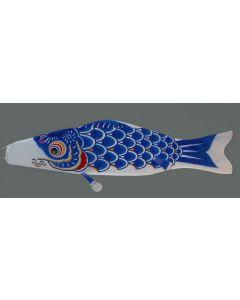 Koinobori blau 150 cm - Glückskarpfen
