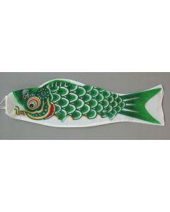 Koinobori grün 90 cm - Glückskarpfen