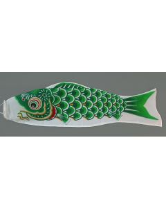 Koinobori grün 120 cm - Glückskarpfen