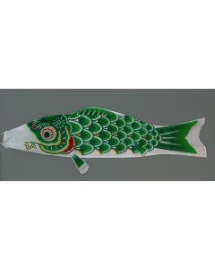 Koinobori grün 150 cm - Glückskarpfen