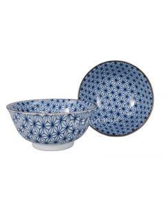 Allzweck Schüssel Asanoha blau ø 15 cm