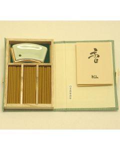 Nippon Kodo Tokusen Byakudan 60sticks mit Halter