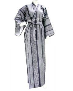 Kimono Japanisches Muster 150 cm gefüttert