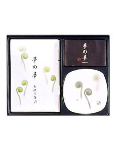 Nippon Kodo Yume No Yume Fiddle Head Fern Set