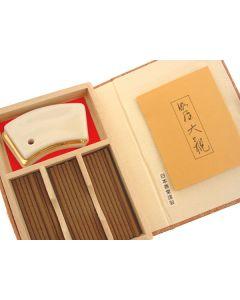 Nippon Kodo Kyara Taikan Geschenkset 45 sticks mit Halter