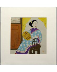 Bild - Porträt einer Hausdame