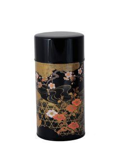 Teedose Koetsu schwarz