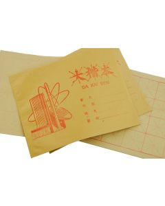 Kalligraphie Papier mit Raster Übungsheft