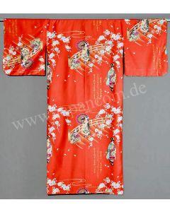 Damen Kimono Maiko rot