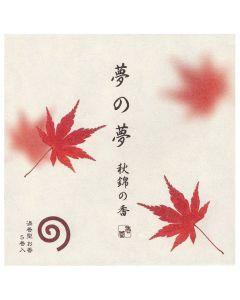 Nippon Kodo Yume No Yume Maple Leaf 5 coils