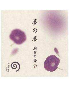 Nippon Kodo Yume No Yume Japanese Morning Glory 5 coils