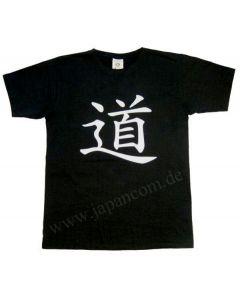 Taichi T-Shirt Dao Yin Yang schwarz