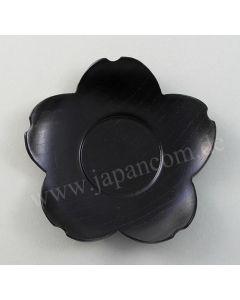 Unterteller Sakura Kuro aus Holz ø=11cm