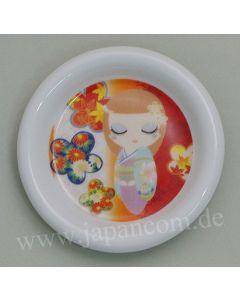 Kleiner Teller Maiko lila - Unterteller für Teebecher