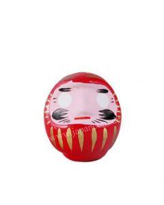 Daruma Puppe 9cm rot - Japanischer Glücksbringer