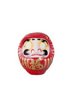 Daruma Puppe 11 cm rot - Japanischer Glücksbringer