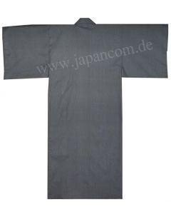 Kimono Fundo blauschwarz, Rückseite