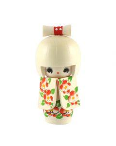 Kokeshi Puppe Hanafubuki 13cm