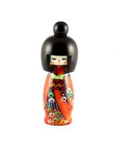 Kokeshi Puppe Hanazukushi 19cm