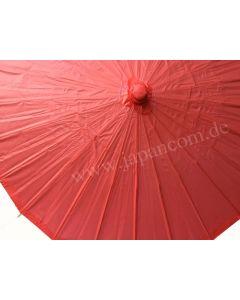Zen rot Sonnenschirm aus Papier ø 85cm