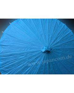 Zen Sonnenschirm aus Papier uni blau, ø 85cm