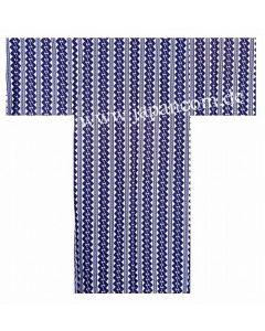 Yukata Kette, blau-weiss, Gr. S