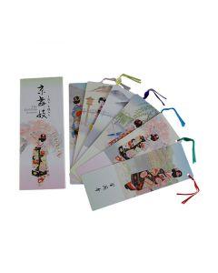 6 Lesezeichen Shiori Kyo Maiko pink