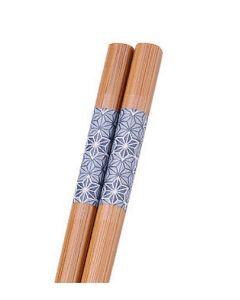 Essstäbchen Bambus Leinenblüte 24 cm