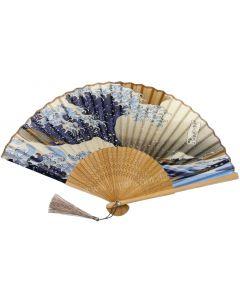 Seidenfächer Kanagawaoki, naturbraun