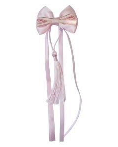 Haarclip Schleife pink