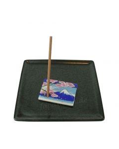 Fujiyama - Halter für Räucherstäbchen Shoyeido 3,5 x 3,5 cm
