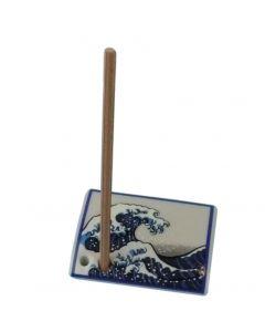Kanagawaoki - Halter für Räucherstäbchen Shoyeido