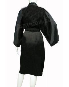Seidenkimono Nippon kurz schwarz