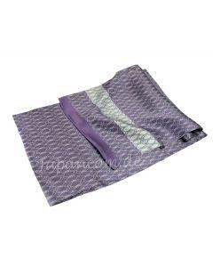 Herren Schal Knoten aus 100% Seide, violett