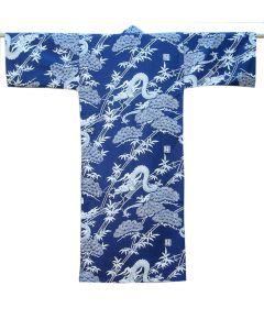 Jungen Kimono Drachen blau