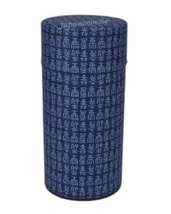 Teedose Kanji dunkelblau 200g