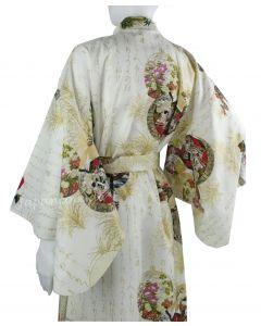 Kimono Prinzessin weiss