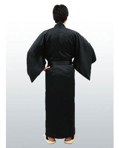 Herren Kimono Seide Nippon uni