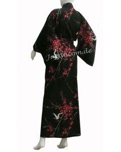 Kimono Cherry Blossom (Kirschblüte) schwarz Gr.S