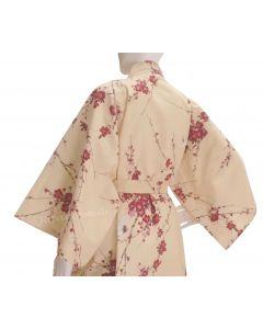 Kimono Cherry Blossom beige lang