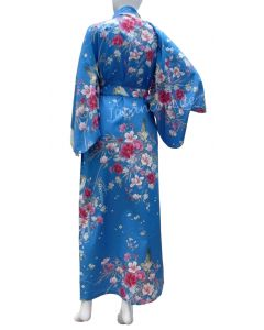 Japanischer Damen Kimono Hana blau