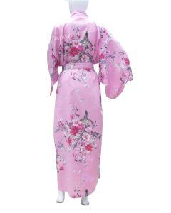 japanischer Damen Kimono Hana pink